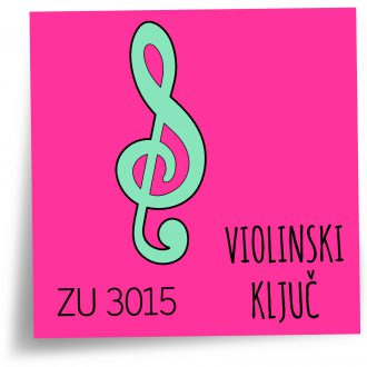 alat za fondan violinski kljuc