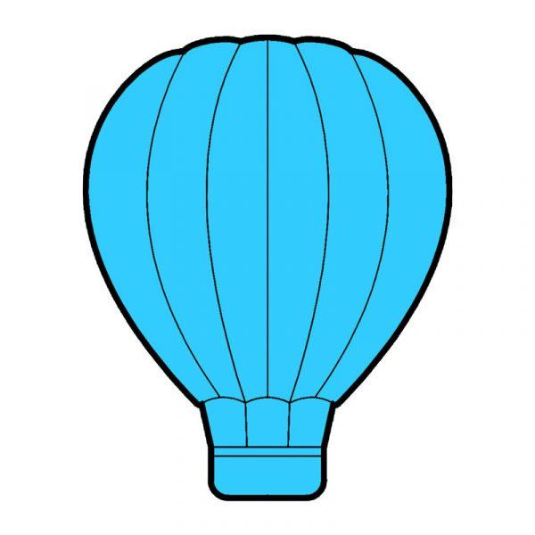 modla za medenjake leteci balon