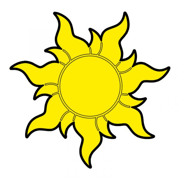 modla za medenjake sunce