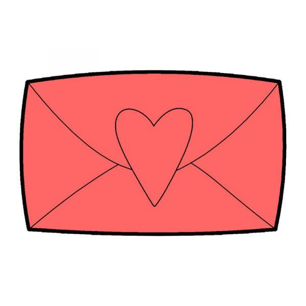 modla za keks ljubavno pismo