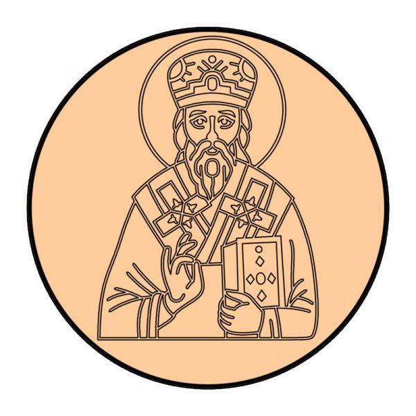 modla sa utiskivacem sveti vasilije