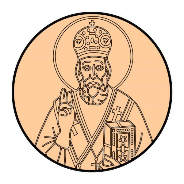 modla sa utiskivacem sveti nikola