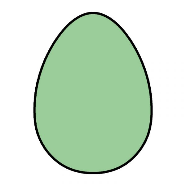 modla za medenjake jaje