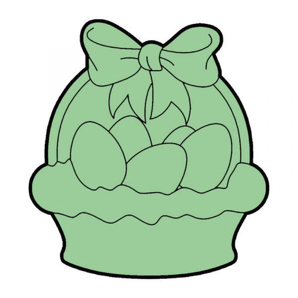 modla za medenjake korpa sa jajima