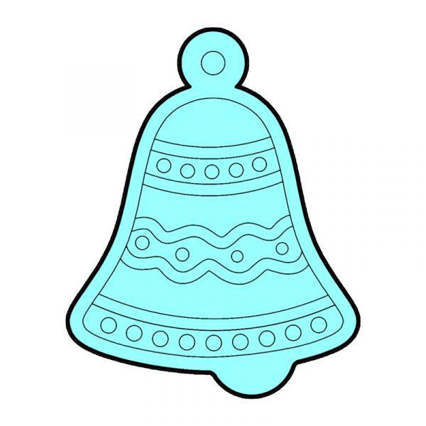 modla za medenjake zvono
