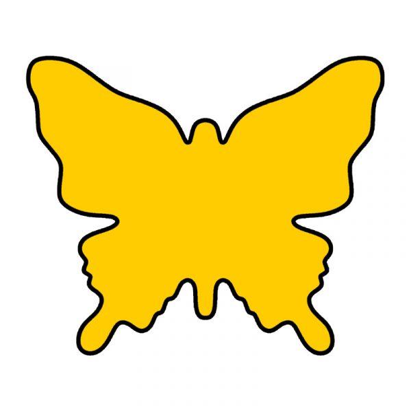 modla za kolace leptir