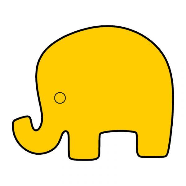 modla za kolace slon