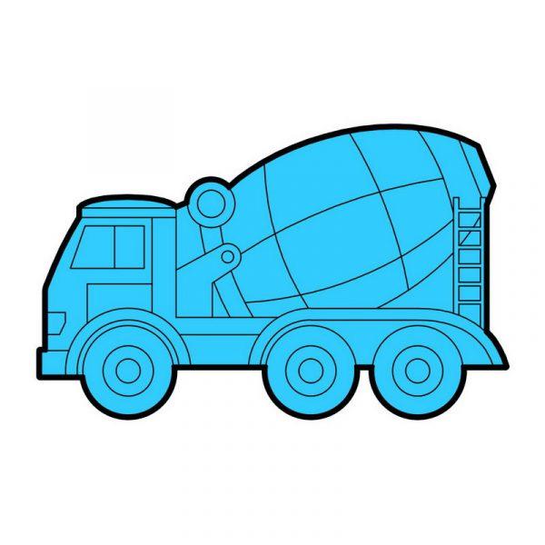 modla za medenjake kamion mesalica