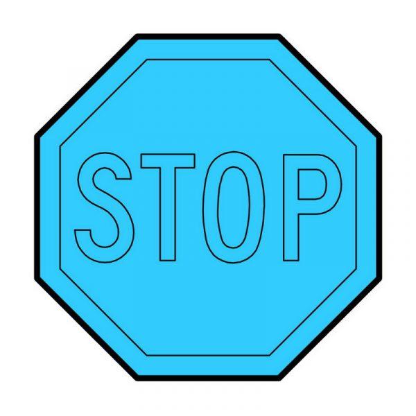 modla za medenjake saobracajni znak